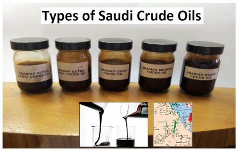 Saudi Crude Oil Types